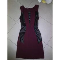 Vestido Vinotinto Corto