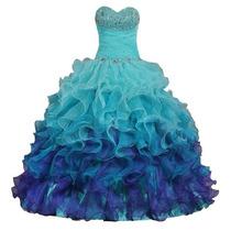 Vestido De 15 Años Para Quinceañera Hermosa, Impecable