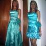 Vestido 15 Años Quinceañera Color Turquesa