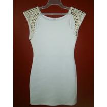 Vestido Blanco Casual De Vestir