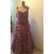 Vestido De Fiesta Coli Couture Traído De Usa Talla 16