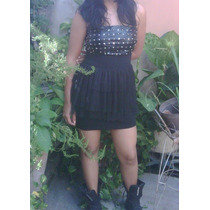 Vestido Negro A La Moda Para Damas Y Niñas, Zapatos, Blusa
