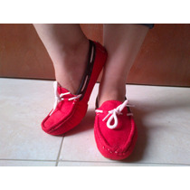 Bellos Zapatos Para Dama Mocacin Marca Anat Casuales Gamusa