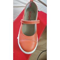 Zapatos De Dama Talla 36 Naranja Marca Kickers