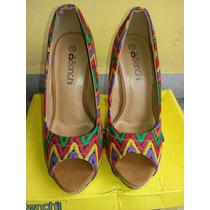 Zapatos De Plataforma De Dama Bassinger