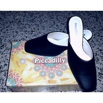 Zapatos Piccadilly De Piel Negra Talla 7 Us