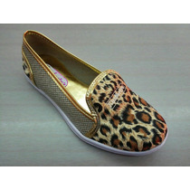 Bella Zapatilla Animalprint