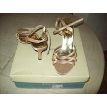 Zapatos Vía Uno Y Sandalias De Vestir Talla 37