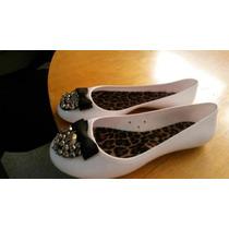 Zapatos En Pvc Piedreria Para Combinar Tu Candy Bag Furla