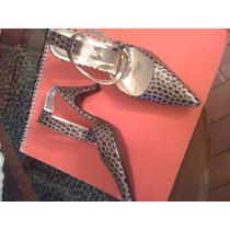 Bellos Zapatos Damas, Johantony, Color Tigre Nro.40