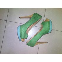Zapatos Altos Cerrados Importados