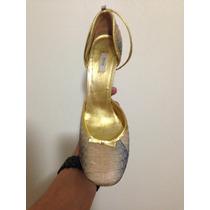 Tacones Zapatos De Dama Prada Made In Italy
