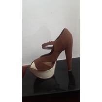 Zapatos Marron Nuevos Casual Y Vestir Tacones Atrevida