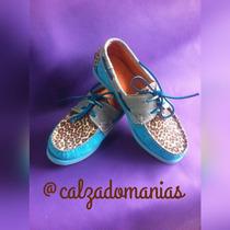 Zapatos Tipo Mocasin 100% Cuero