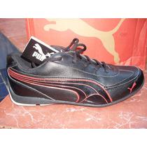 Zapatos Puma Sport P-931 Negros Cuero Sintetico Unisex