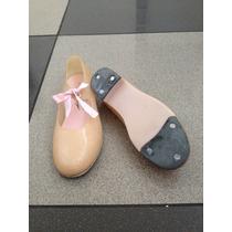 Zapatos Para Tap Capezio (niñas) Talla 11 (28 Vzla)
