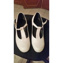 Vendo Zapatos De Flamenco Blancos