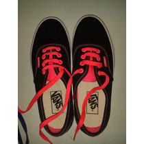 Zapatos Originales Vans Talla 7,5 Para Damas