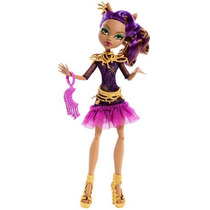 Monster High Camera, Action! Black Carpet Clawdeen Wolf Dol