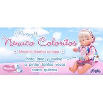 Muñeca Nenuco Coloritos Famosa Colores A La Moda Pinta Lava