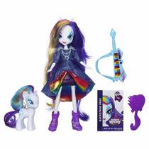 Equestria Girls Rarity Muñeca (incluye El Pony)