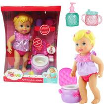 Little Mommy Hora De Ir Al Baño Interactiva Fisher Price