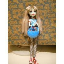 Muñeca Monster High Original Usada (frankie Stein ) Mattel