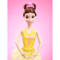 Princesa Bella Modelo Bailarina Disney De Mattel
