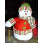 Muñecos Navideños Para Caramelos Y Galletas Santa