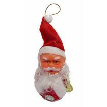 Muñeco Santa Claus 15cm Articulo Navidad Agítalo Y Suena 601