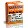 Karaoke Mini Premium Pack Español Vol.1 - Sonido Profesional