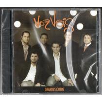 Voz Veis. Grandes Exitos, Cd Original Nuevo