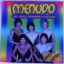 Menudo. Los Mas Grandes Exitos. Cd Original, Como Nuevo