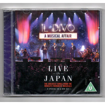Il Divo. Live In Japan. Cd+dvd Original Nuevo.