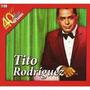 2 Cds - Tito Rodriguez - 40 Años 40 Exitos - 2011