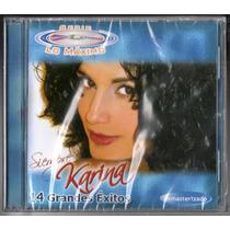 Karina. Serie Lo Maximo Exitos. Cd Original Nuevo