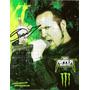 Afiche Promocional Autografiado De Tim Ripper Owens