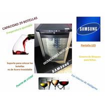 Nevera Vinera Samsung 29botellas. Suuper Ofeeertazo