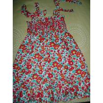 Vestido De Niña Epk Floreado (talla 3t Ref. 1 A 3 Años)