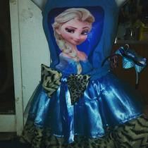 Vestido Falda Tutu Frozen Ana