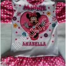 Franelas Sublimadas Peppa Sofia Frozen Minnie Princesas 2-8