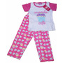 Pijamas Mono Largo Para Niñas De Algodón Estampadas