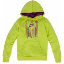 Sweater Nike Therma Fit Sueter Niña Talla M O 7