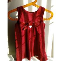 Vestido Para Niña Epk Rojo 23 Meses