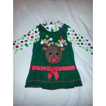 Vestido Bonnie Baby Para Navidad Muy Lindo