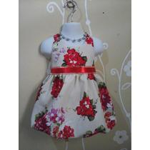 Vestidos Para Niñas Bebes Bodas Bautizos Flores Puntos