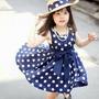 Vestidos Fashion Moda Para Niñas, Bebes Estampado De Puntos