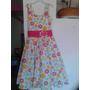 Vestido De Niña Estampado Colombiano Talla 14