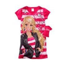 Bella Bata O Dormilona De La Barbie Con Vestido De Muñeca