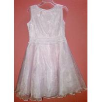 Hermoso Vestido Just Me Rosado Palido. Usado Solo Una Vez.